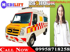 Use Medilift Road Ambulance in Bokaro at Low Cost for Emergency Services
