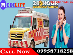 Use Medilift Road Ambulance Service in Hazaribagh at the Minimal Cost
