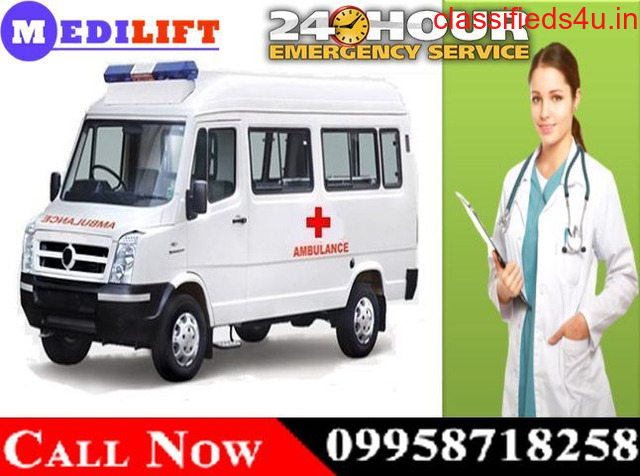 Use Fast Medical Road Ambulance in Hazaribagh at Low Fare by Medilift