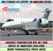 Use ISO Certified Medivic Air Ambulance Service in Bikaner at Low-Cost
