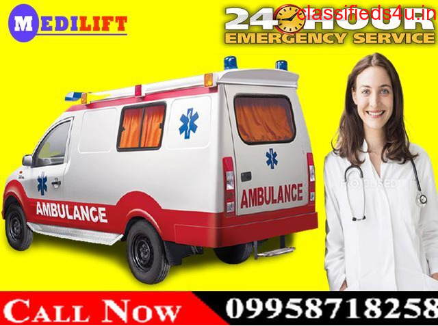 Get Low-Cost ICU Road Ambulance Service in Hazaribagh by Medilift