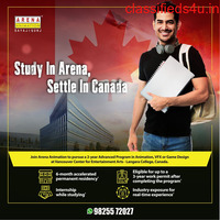 STUDY IN ARENA, SETTLE IN CANADA.