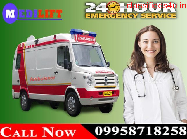 Get Medilift Ambulance Service in Ranchi for Reliable Services