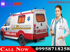 Get Medilift Ambulance Service in Bokaro at Minimal Budget