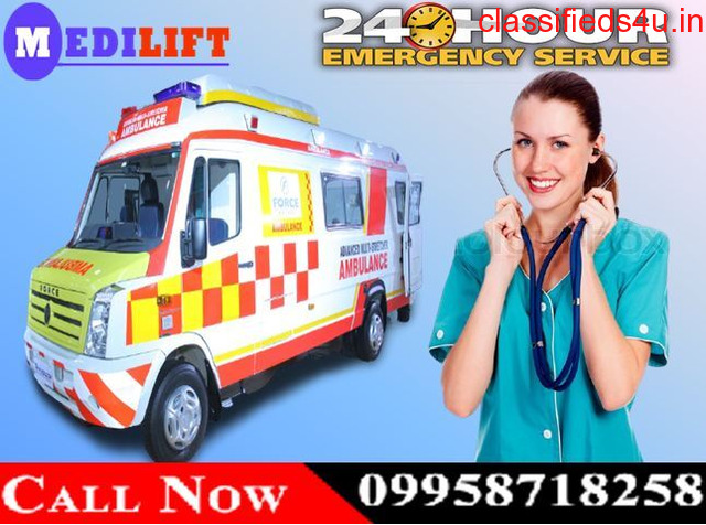 Use Medilift Ambulance Service in Dhanbad with Best Medical Facilities