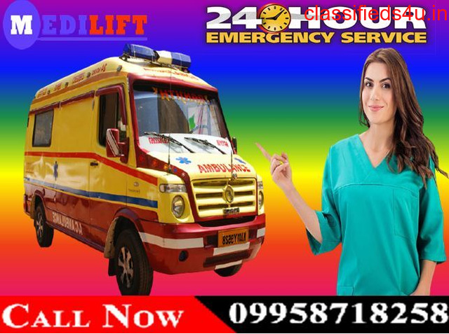 Use Medilift ICU Ambulance Service in Jamshedpur at the Best Price