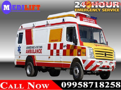 Use Medilift ICU Ambulance Service in Tatanagar at Lowest Cost