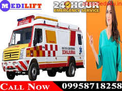 Use Medilift ICU Road Ambulance Service in Varanasi for Best Facility
