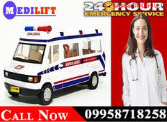 Take Medilift ICU Road Ambulance Service in Ranchi at the Lowest Budget