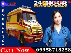 Get Varanasi Road Ambulance Service with Quick and Fast Facility at Low-Cost