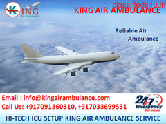Air Ambulance Service in Delhi at Affordable Rate by King