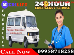 Get Ranchi Road Ambulance Service with Best and Safe Medical Facility