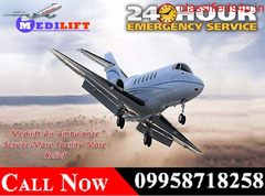 Get Kolkata Air Ambulance Services at Genuine Price by Medilift