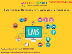 Learning Management System Hyderabad | CODE AND PIXELS