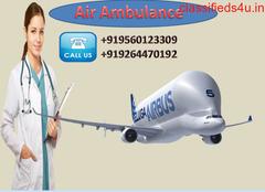 Get Low  Fare Hi-tech Air Ambulance Services in Raipur