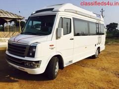 Luxury AC/NON/AC Tempo Traveller Van and Bus Services in Delhi