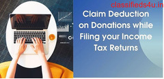 Affirmation Deduction on Donations while Filing your Income Tax Returns
