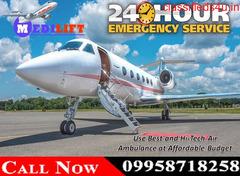 Use Emergency Kolkata Air Ambulance service at Minimum Budget by Medilift