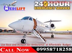 Get Varanasi Air Ambulance Service at Low Budget with Medical Team