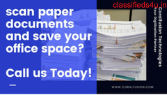 Document Scanning Paperless Office