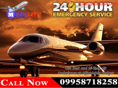 Get Medilift Charter Air Ambulance Service in Delhi at Best and Low Budget