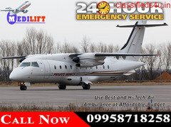 Get Trustworthy and Low-Cost Medilift Air Ambulance Service in Guwahati