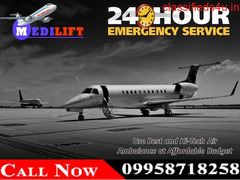 Get Medilift Charter Air Ambulance Service in Mumbai with the Best Medical Facility
