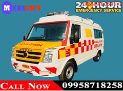 Get Most Trustworthy Medilift Road Ambulance in Dhanbad with Medical Team