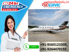 Safe Relocation Solution by Medivic Air Ambulance from Kolkata to Delhi