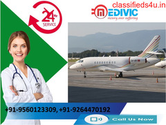 Swift Moving Amenity by Medivic Air Ambulance from Mumbai to Delhi