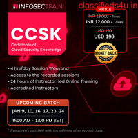 Online CCSK certification training in Austrailia