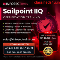 Sailpoint IdentityIQ Implementation Certification Training in Austrailia