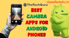 Best Android Camera Applications – Top 10 Free Apps by 2020.