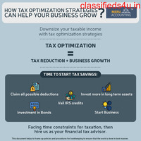 How tax optimization strategies can help your business grow?