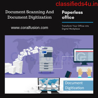 Documents Scanning Services  into Digital Workplace