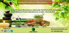 Herbal Products Manufacturer | Ayurvedic Third Party Manufacturing.