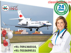Use the Paramount Emergency Air Ambulance Service in Patna by King