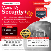 CompTIA Security+ SY0-601 Certification Online Training