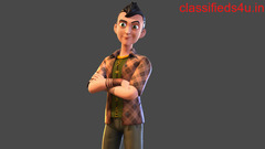 The Imagine Studio provides the best 3d character modeling services in India