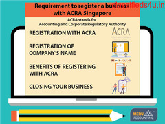 Requirement to register a business with ACRA Singapore