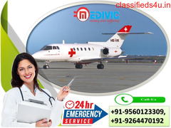 Matchless Life Support by Medivic Air Ambulance Services in Bhopal