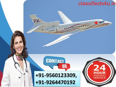 Obtain Perfect ICU Air Ambulance Services in Brahmapur by Medivic