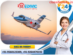 Top-Grade ICU Setup by Medivic Air Ambulance Services in Chandigarh