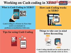 Working on Cash coding in XERO