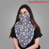 Half Face Mask with beautiful prints | Kavachmask.com