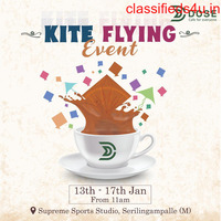 Kite Flying Event in Hyderabad