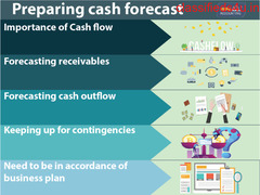 Preparing cash forecast