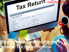 Step-by-step guide for online filing of income tax return