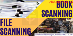 Book Scanning Services in Chennai