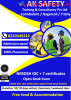 NEBOSH course in coimbatore